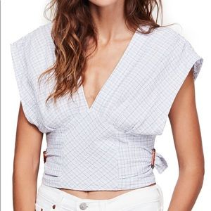 Free People Always on my Mind Top Small